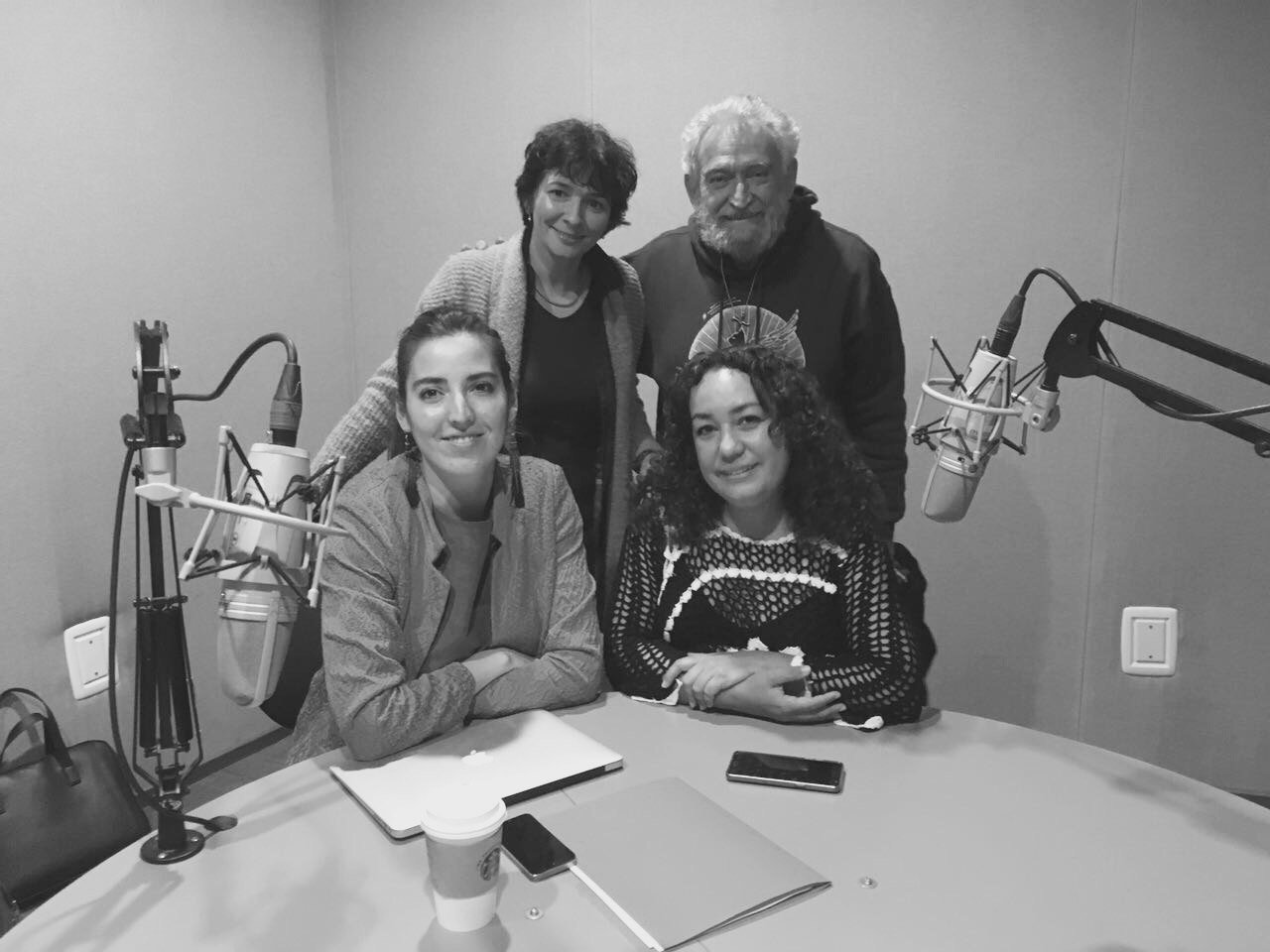 La garganta, el grito y la voz. Susana González Aktories, Llorenç Barber, Cinthya García Leyva y…