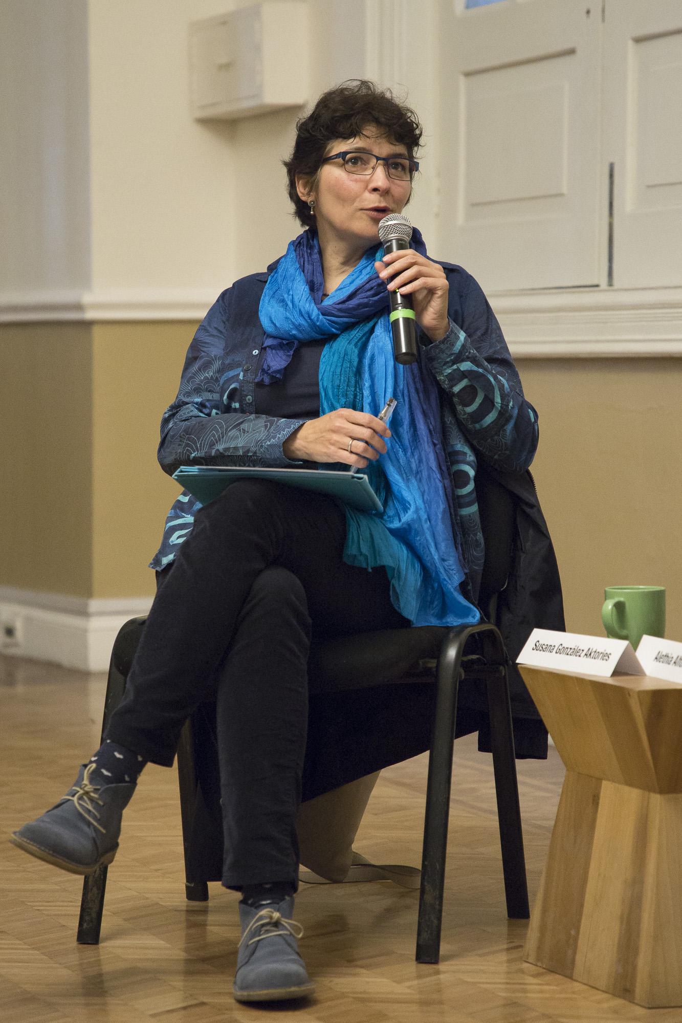 Susana González Aktories. Casa del Lago, febrero de 2018. © Natalia Gaia