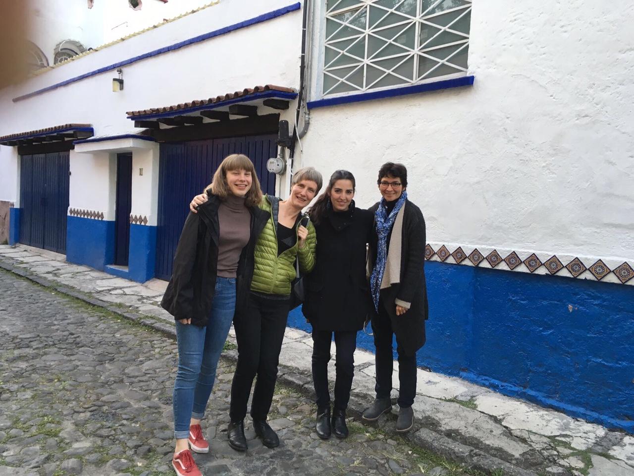 La garganta, el grito y la voz. Ute Wassermann, Cinthya García Leyva, Susana González Aktories