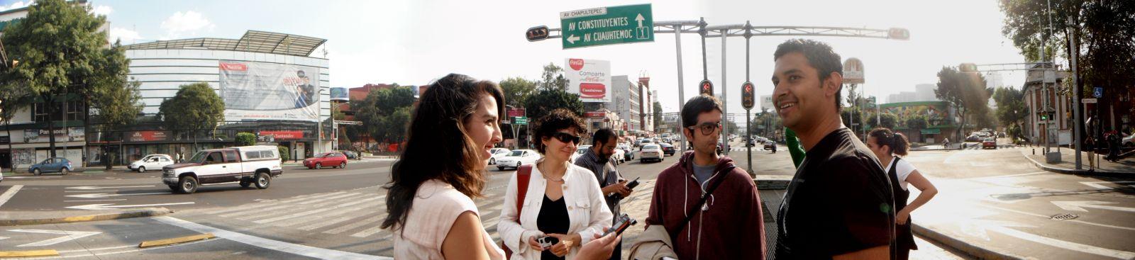 Conversación en caminata con Román Luján