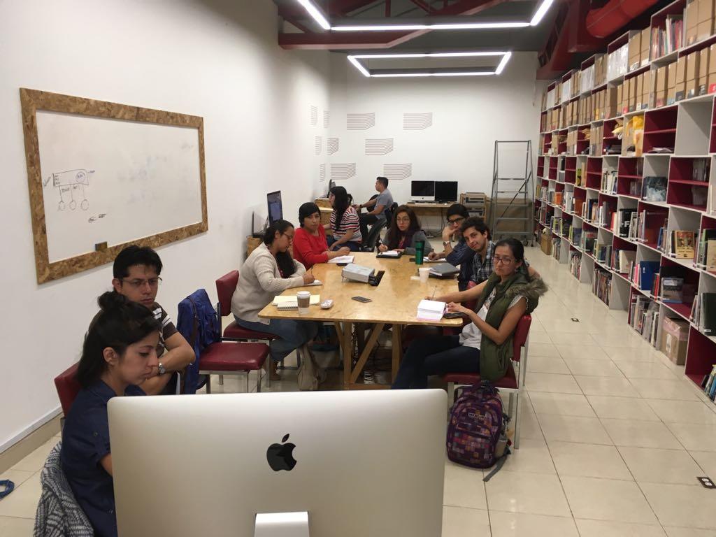 Poética Sonora Mx. Visita a los archivos del Laboratorio Arte Alameda