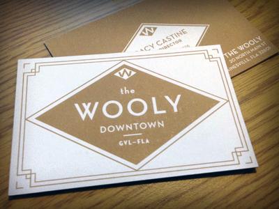woolycard