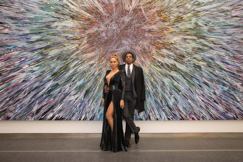 Beyonce and JAY-Z at Roc Nation Brunch 2018 | POPSUGAR Celebrity