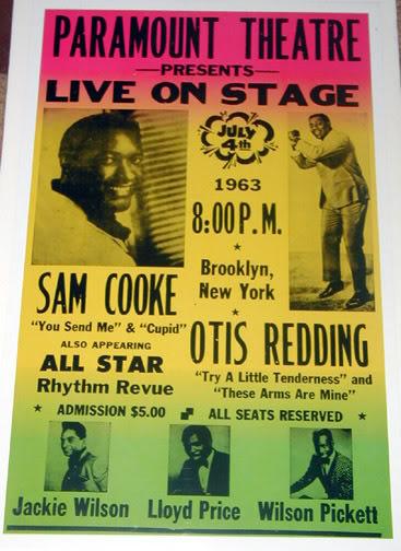1963, Sam Cooke Boxing Poster