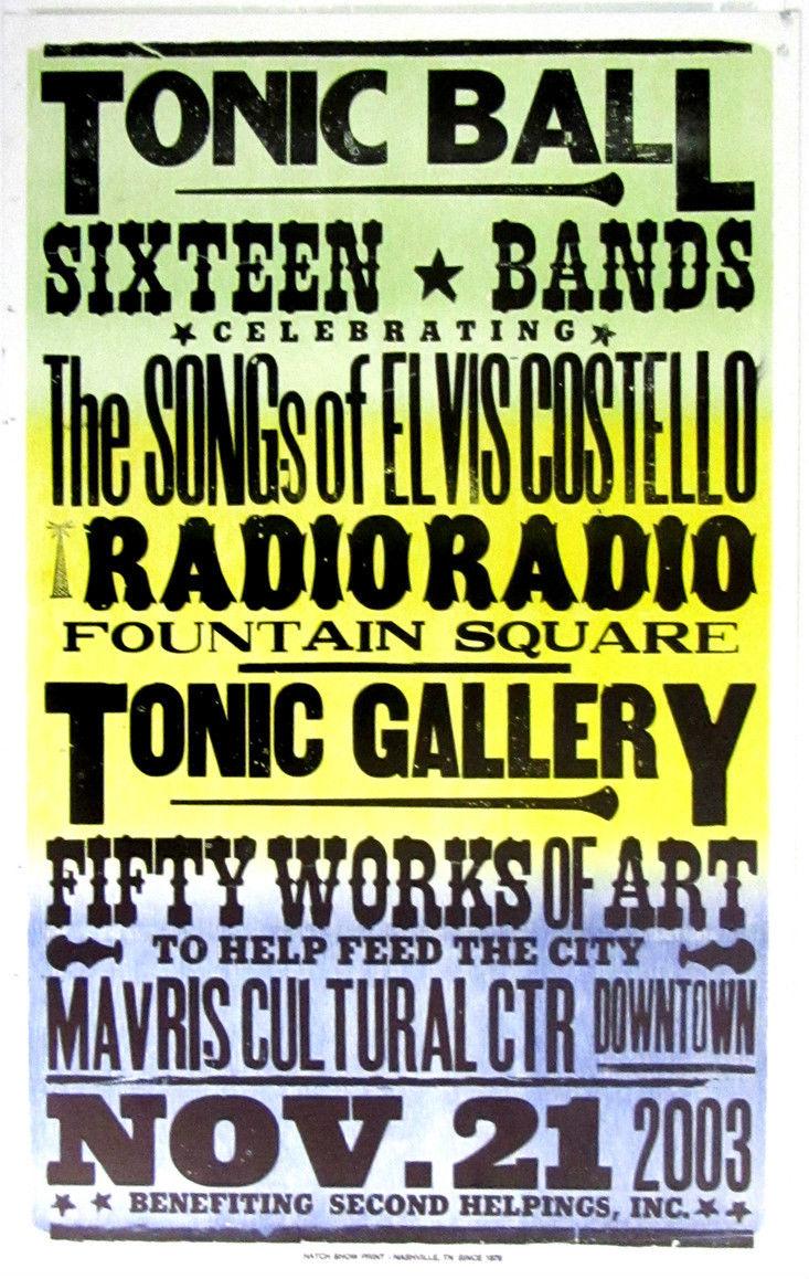 2003, Hatch Show Print