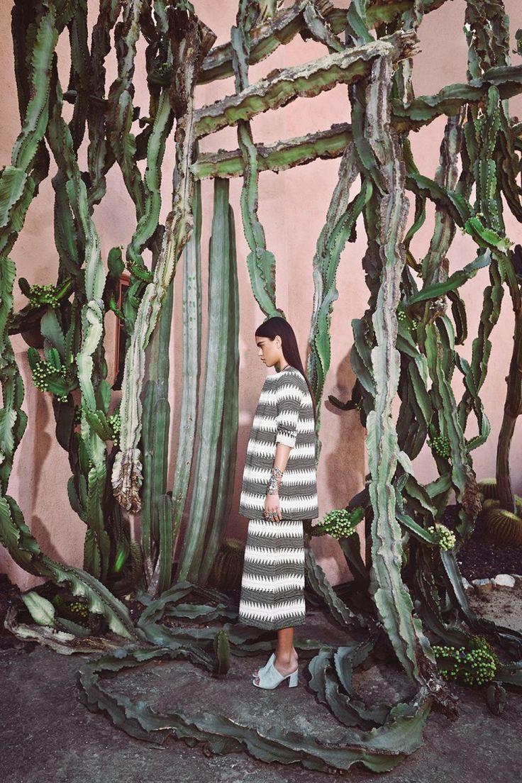 A Cactus Dream | MARA HOFFMAN SPRING 2015: