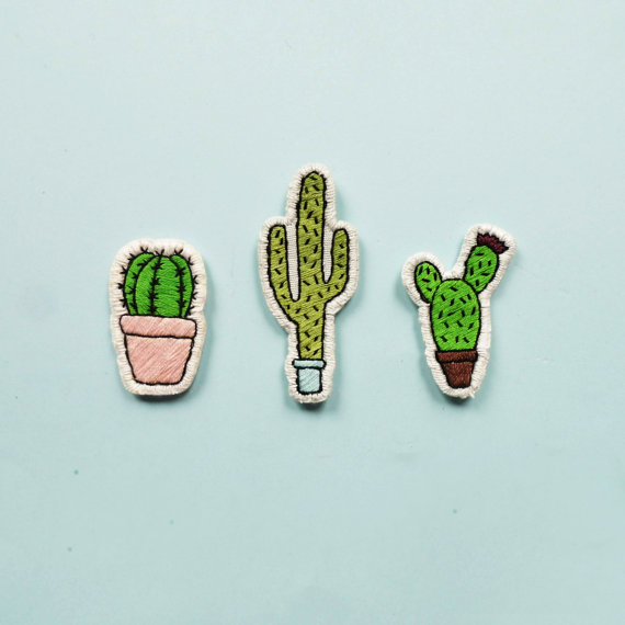 Cacti Patches (set of 3)