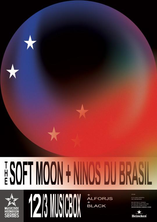 The Soft Moon + Ninos Du Brasil