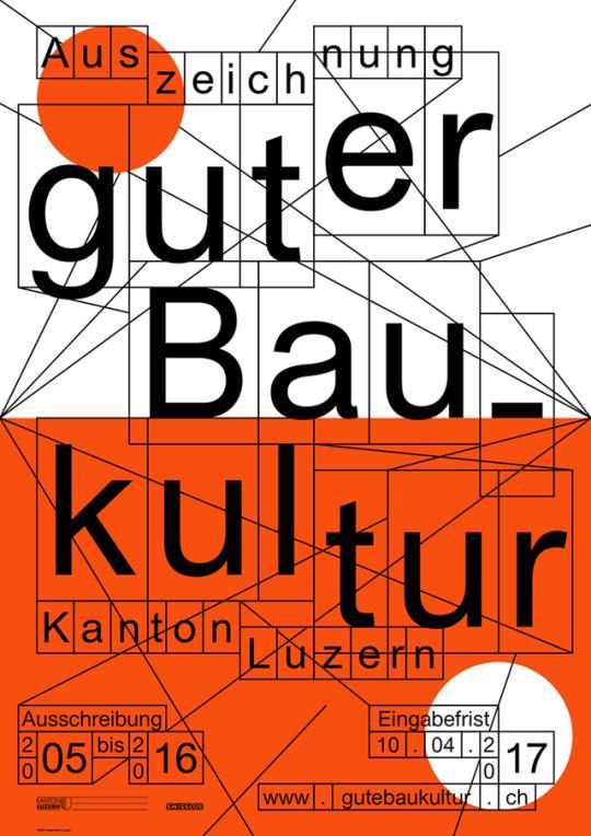 Präsens Büro, Auszeichnung guter Baukultur im Kanton Luzern, 2017.
