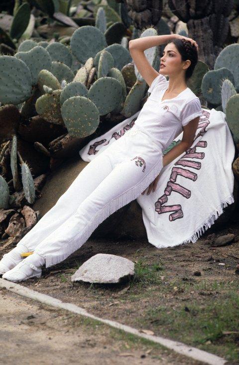 Photographed by Pamela Barkentin, Vogue, 1980