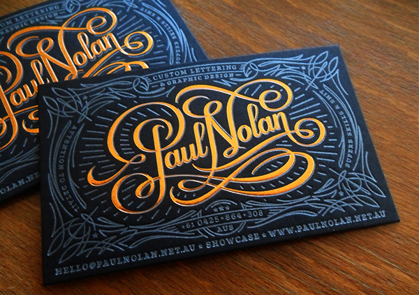 Paul Nolan business card