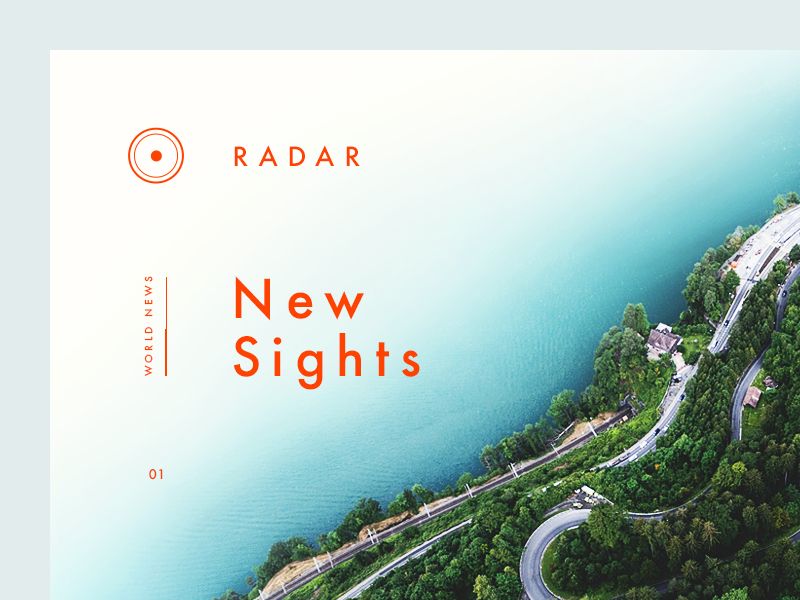 Radar News Detail by Vedad Siljak - Dribbble