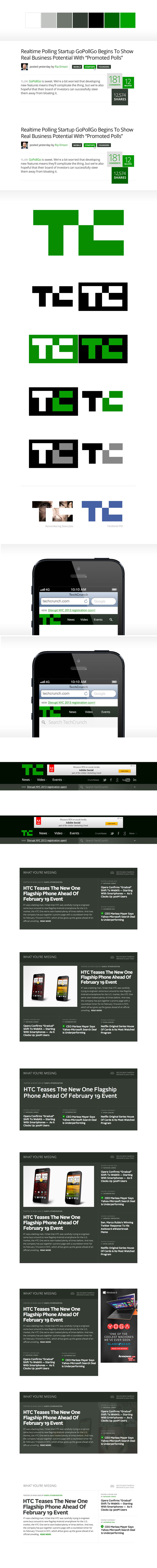 TechCrunch 2013: Typography
