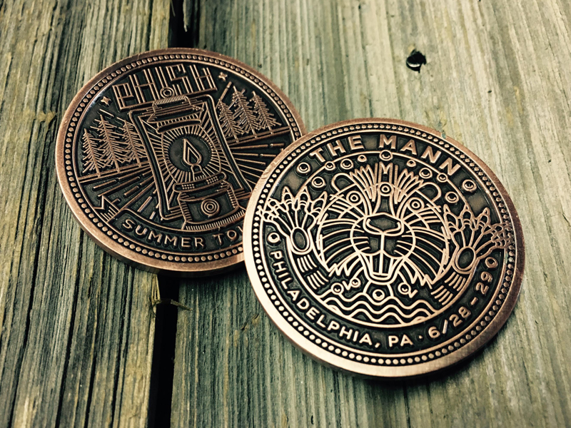 Phish Three-eyed Beaver Coin