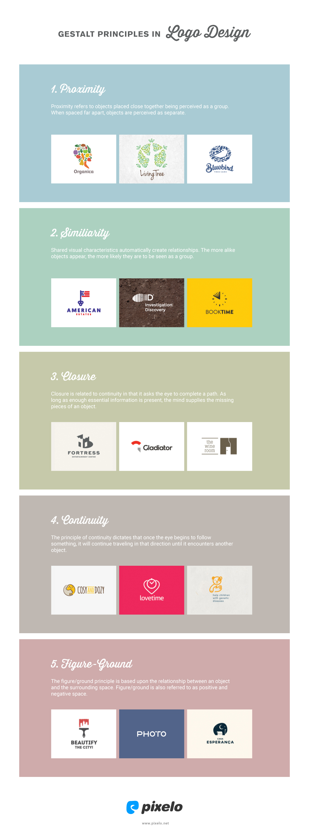 Gestalt principles in logo design