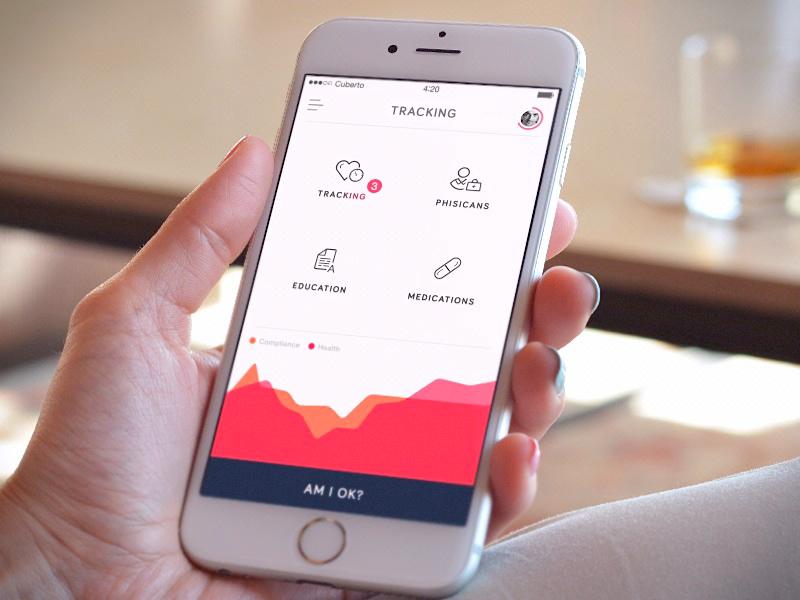 Medical app UI design
