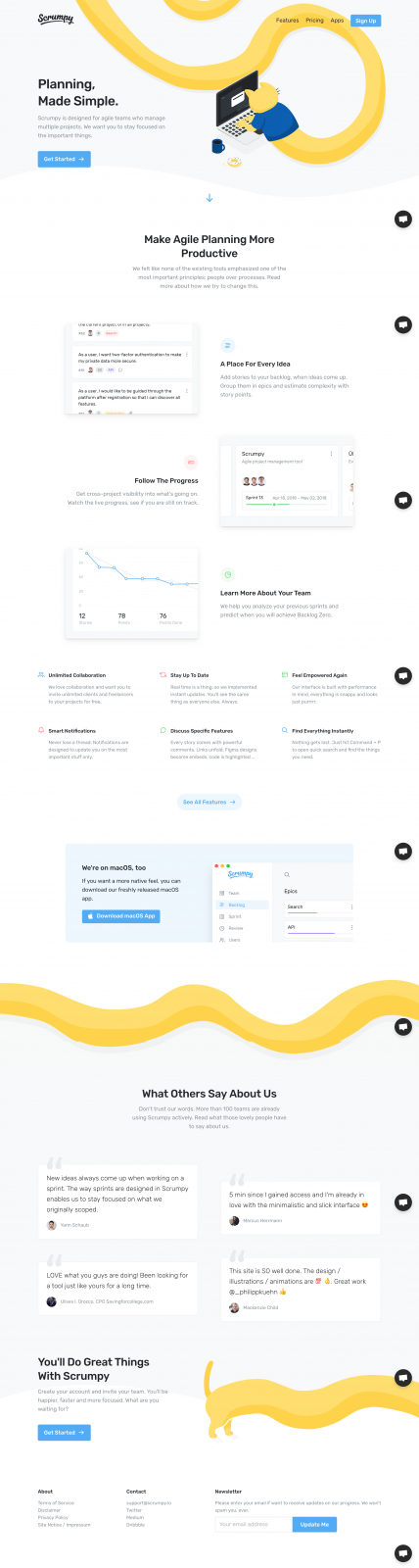 Scrumpy — A Beautiful Project Management Tool for Agile Teams