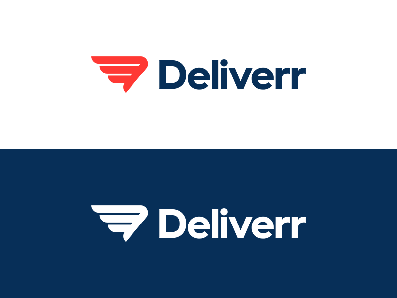 Deliverr by Damian Kidd - Dribbble