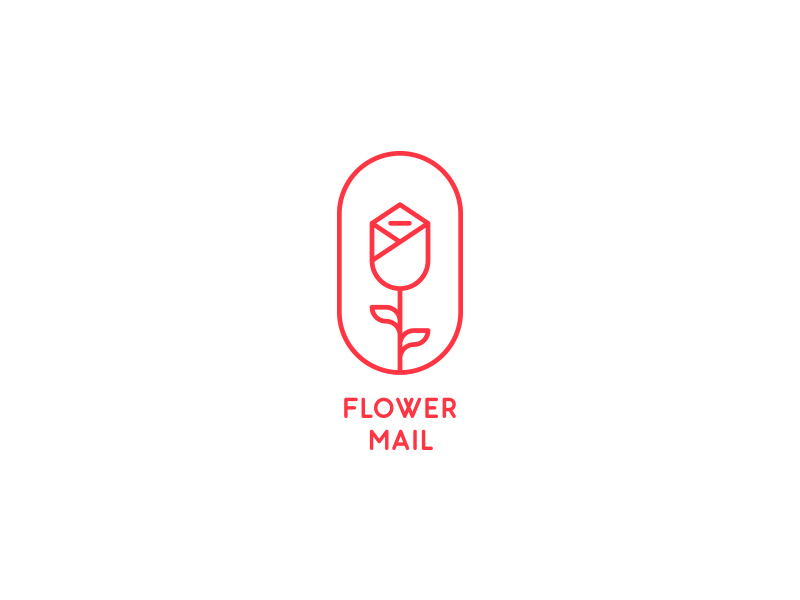Flower Mail by last spark - Dribbble