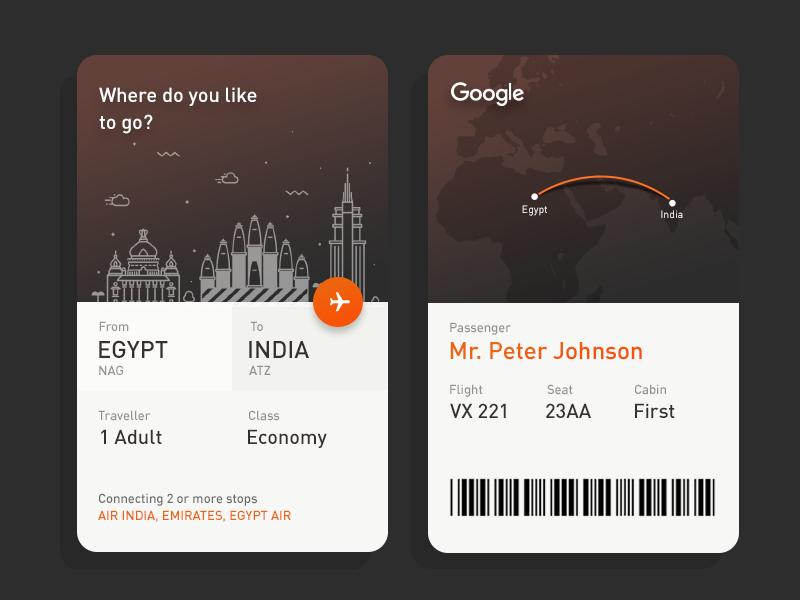 Daily UI #8 - Google Flights