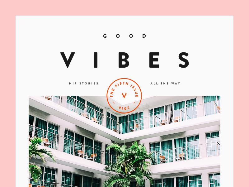 Good Vibes by Vedad Siljak - Dribbble