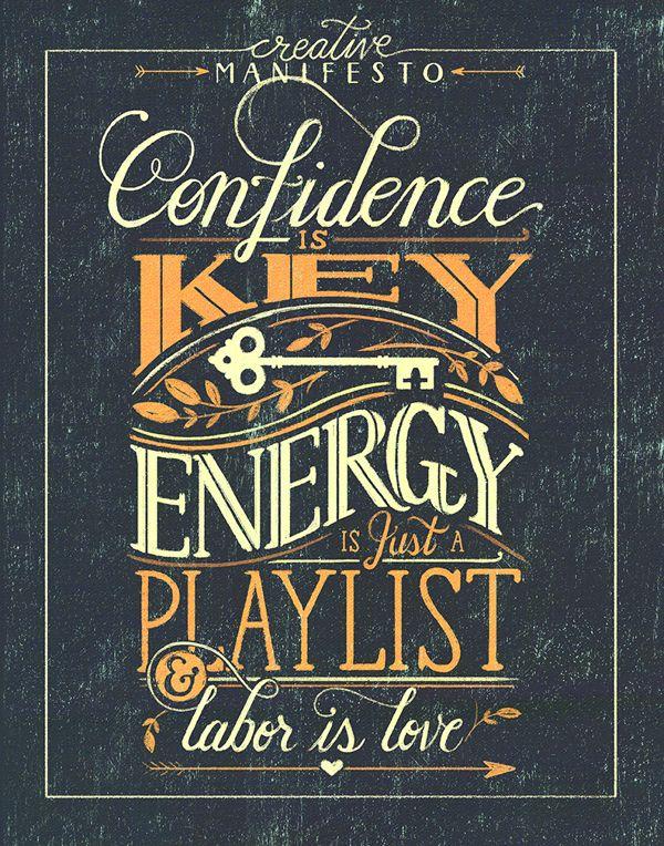 'Creative Manifesto' by Livy Long | Typography | Pinterest