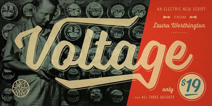 Voltage by Laura Worthington