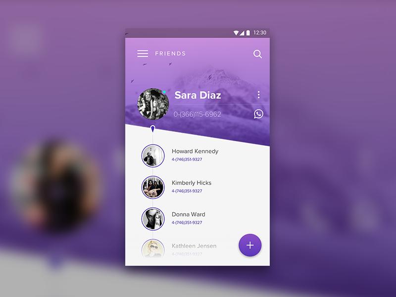 Dialer Material Design – App by carlhauser