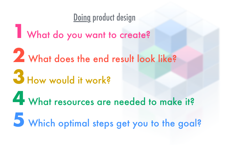 The Elements of Product Design, and the discipline vs. the job