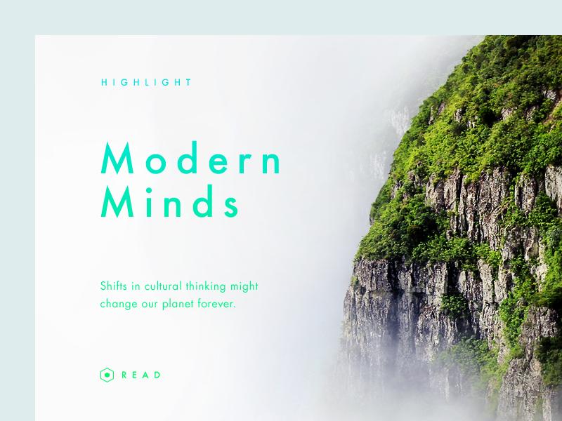 Modern Minds by Vedad Siljak - Dribbble
