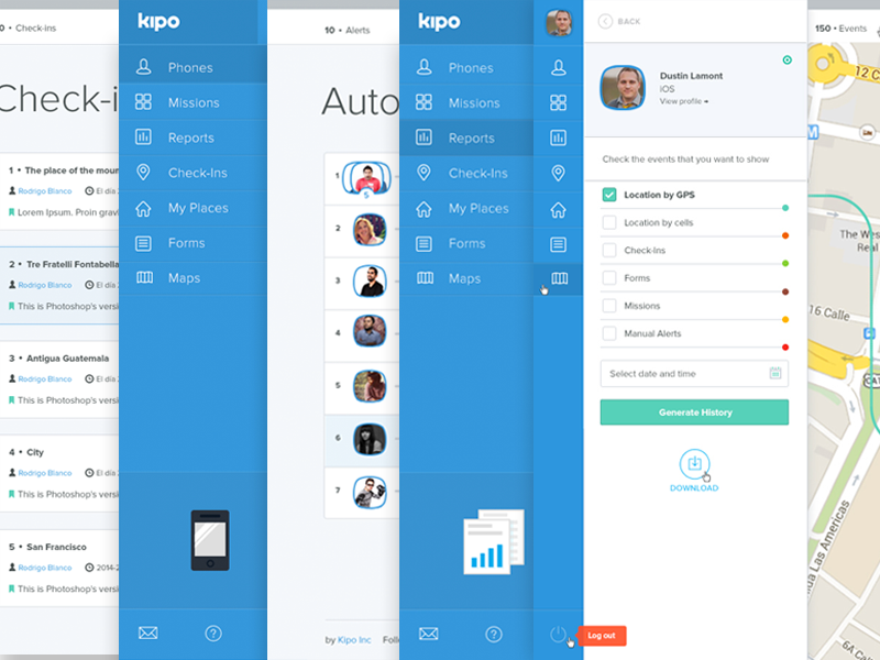 Kipo Web App Case Study by Jorge Martinez  - Dribbble