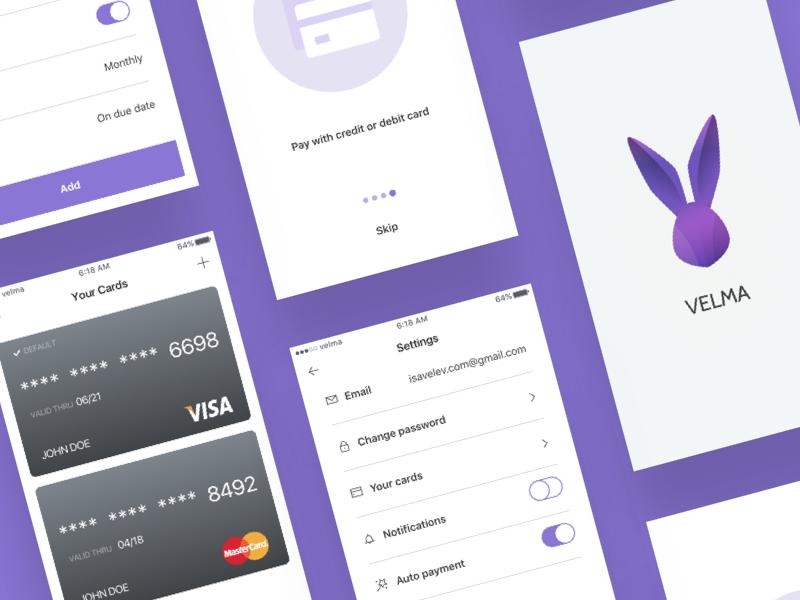 Velma App by Igor Savelev - Dribbble