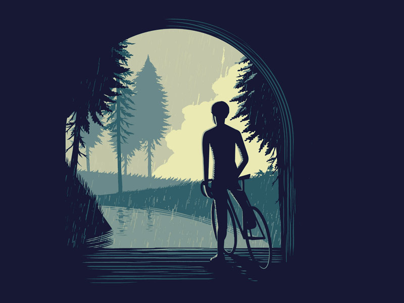 Waiting for the Rain by Andrew Rose - Dribbble