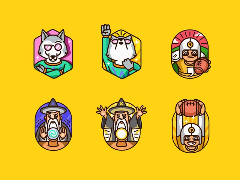 Badges by Patswerk - Dribbble