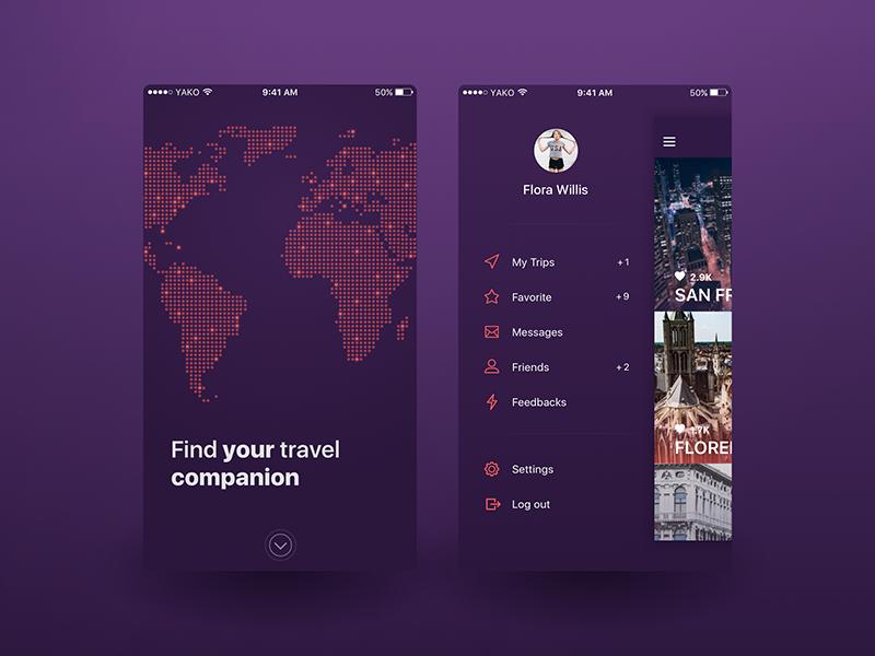 Biplane Travel Application by Yaroslav Kovalchuk - Dribbble