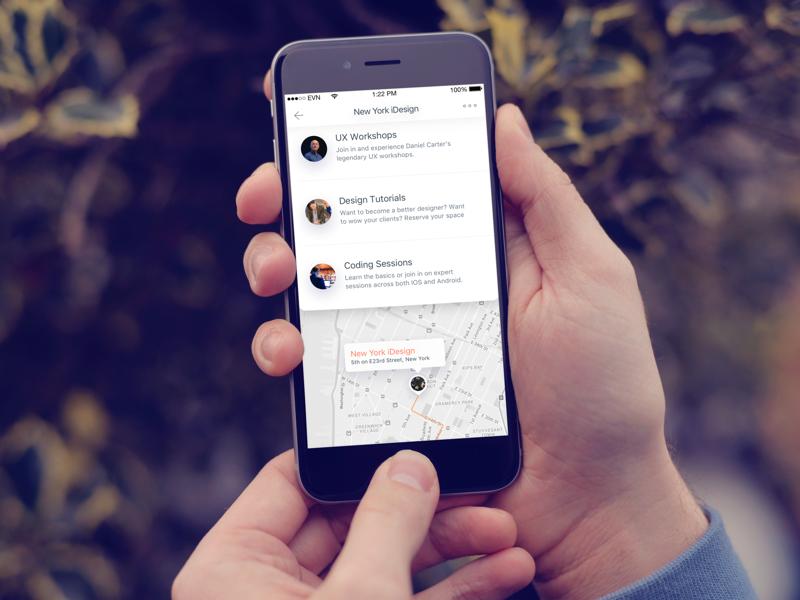 Event App by Callum - Dribbble