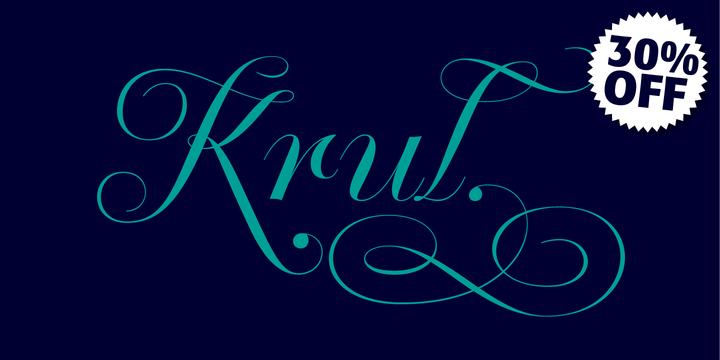 Krul by Re-type